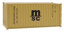 H0 Container 20 Fuß MSC -- 8057 NEU