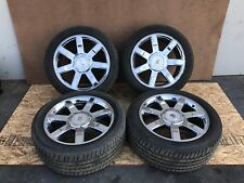 "CADILLAC ESCALADE ESV OEM CHROME WHEEL WHEELS RIM RIMS TIRE TIRES 22"" 22 INCH"