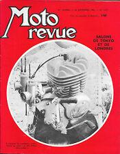 MOTO REVUE . N° 1617 . 24 novembre 1962 . Salons de Tokyo et Londres .