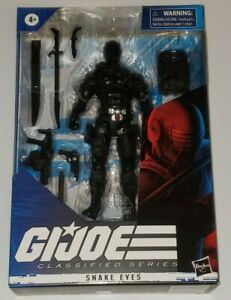Hasbro G.I. Joe Classified Series Snake Eyes Action Figure 02 Read Description