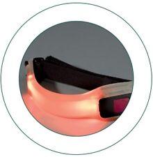 LED di sicurezza FASCIA DA BRACCIO. Flessibile In Gomma Fascia da braccio per corsa, ciclismo a passeggio il cane