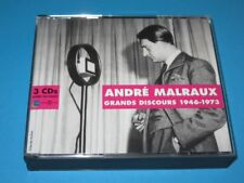 Andre Malraux / Grand Discours - Great Speeches - 1946-1973 - 3 CD-Set