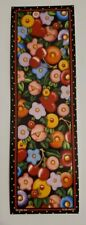 Mary Engelbreit bookmark, fried egg design, hearts and cherries