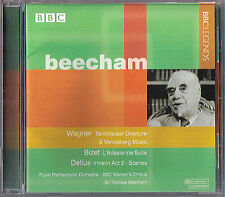 BEECHAM: 1954 BBC Prom WAGNER Tannhäuser BIZET L 'ARLESIENNE Delius IRMELIN CD