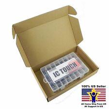 24value 400pcs Polyester Film Capacitors Box Kit 100V ±5% US Seller KITB0053