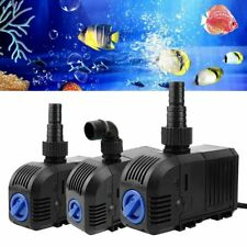 500/900/1500 LPH Aquarium Pump Water Submersible Fish Tank Fountain Pond Marine