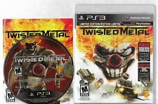 TWISTED METAL PlayStation 3 PS3 disc, case  and manual