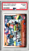 2015 Topps Update #US286 Francisco Lindor PSA Mint 9  Rookie