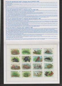 Christmas Islands #211a Wildlife, Tanzania #466 x 2 Birds MNH CV $107.50