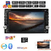 6.2'' Doppel DIN AutoRadio CD DVD HD Touchscreen GPS Navi Bluetooth TV AUX USB