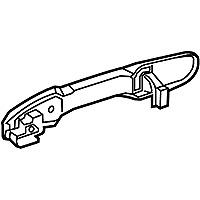 GENUINE TOYOTA COROLLA SEDAN Handle Assy, Rear Door Outside, RH 69210-02340-A1