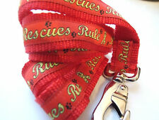Rescue Rules Red Dog Leash Only Made in the Usa