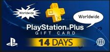 ☑️ WORLDWIDE ☑️ 🎮 14 DAYS 🎮 PlayStation Plus PS3 | PS4 | Vita 🆙