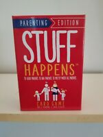 Stuff Happens Card Game Parenting Edition. A Messed Up Game For Parents!!!
