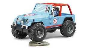 Bruder 02541 Jeep Mudracer Geländewagen  mit Figur