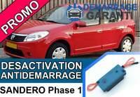 Clé de désactivation d'anti démarrage Dacia SANDERO PHASE 1