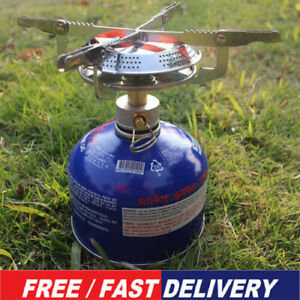Camping Gas Stove Portable Cooking Cookware Set for Outdoor Camp Gas Burner JP