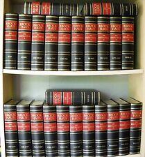 Lexika - Der Brockhaus. Die Enzyklopädie in 24 Bänden, Ganzleder - Goldschnitt