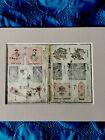 1830's  Katsushika Taito ll EDO Period Woodblocks On Washi Paper