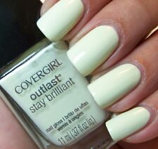 CoverGirl Outlast Stay Brilliant Nail Gloss Polish SALT WATER TAFFY Light Green