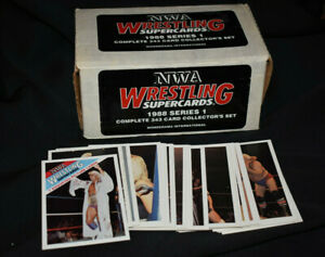 1988 Wonderama Factory Set NWA Wrestling 348 Card Complete Set - WWE WWF RARE!