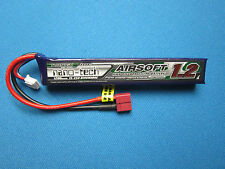 TURNIGY NANO-TECH 1200mAh 3S 15C 30C LIPO BATTERY AIRSOFT DEANS T CONNECTOR 11.1