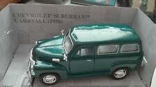CHEVROLET SUBURBAN  CARRYALL  1950  KINSMART  1/36 CON CAJA