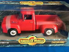 1956 FORD F100 STEP SIDE PKP   ERTL COLLECTIBLES  1/18 AMERICAN MUSCLE SERIES