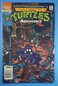 Teenage Mutant Ninja Turtles Adventures #11 Newsstand Archie Comics 1990 TMNT