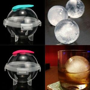 4Pcs Round Ball Ice Cube Mold DIY Ice Cream Maker Whiskey Ice Mould Bar Tools