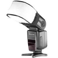 Neewer Pro Universal Soft Mini Flash Bounce Diffuser Cap for Canon Nikon Flashes
