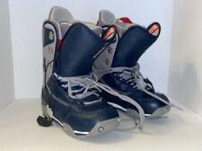 Burton Ruler Men's 8.5 Snowboarding Boots Matrix 3 Blue And Grey Gray