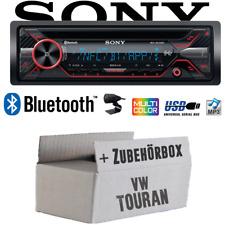 Autoradio Sony für VW Touran Bluetooth CD MP3 USB Auto Einbauset