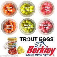Berkley Powerbait Power Eggs Trout Bait trout lures