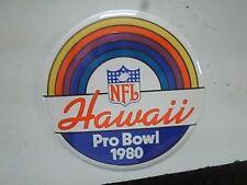 1980 NFL FOOTBALL HAWAII PRO BOWL BUTTON PIN