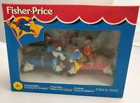 Vintage Fisher-Price Jousting Knights Figuren / Turnier-Ritter zu Pferden - 1994