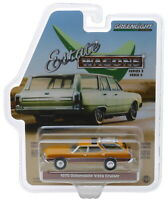 Greenlight 1970 Oldsmobile Vista Cruiser Nugget Gold Poly/Wood Grain 1/64 29950C