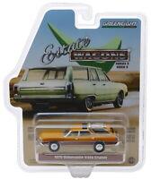 Greenlight 1970 Oldsmobile Vista Cruiser Nugget Gold Poly/Wood Grain 1/64 29950C