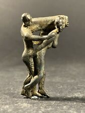 VERY RARE HIGH DETAILED ANCIENT ROMAN BRONZE EROTIC STATUETTE CIRCA. 100AD