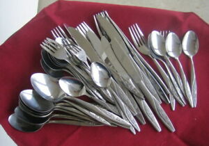 Impreal Rose /& Scroll  Design  Stainless  Flatware Sold Individual Replacement!