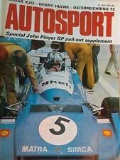 Autosport July 13th 1972 *Road Atlanta Can Am*