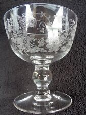 Viking Crystal Prelude Ball Stem Low Sherbet