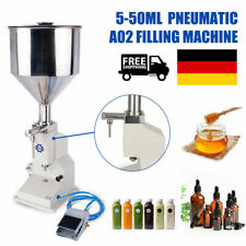 More details for a02 pneumatic 5~50ml filling machine for cream & shampoo & cosmetic liquid