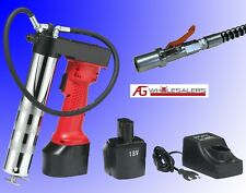 18V VOLT BATTERY CORDLESS GREASE GUN - 450g RECHARGEABLE INDUSTRIAL QUALITY