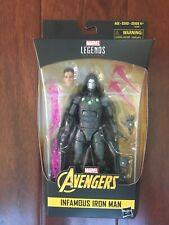 Marvel Legends Infamous Ironman New Dr. Doom! Avengers X-men Thanos Endgame
