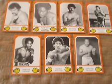 1987 Brown's Boxing Cards THE COMPLETE 30 CARD SERIES FIVE (#131 THRU #160)