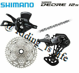 2021 Brand New SHIMANO Deore M6100 1X12 Speed MTB Groupset 4 Pcs 10-51T