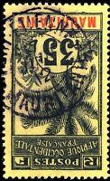 """MAURITANIE - 1912 - CAD """"PORT-ÉTIENNE"""" SUR 35c PALMIER - PEU COMMUN"""