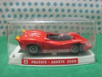 Vintage - ABARTH 2000  - 1/25 Politoys-M584  - Made in Italy 1969 - Mint box