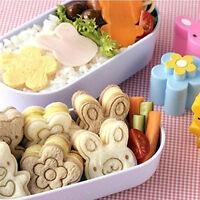 Mini Sandwich Cutters Shapes For Kids Plastic Bento Sandwich Cutters Mold 2020